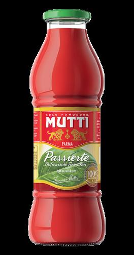 Tomatpuré Med Basilikum