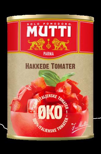 Økologiske Hakkede Tomater