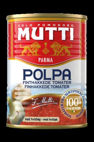 Finthakkede Tomater med Hvidløg