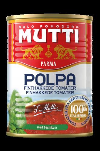 Finthakkede Tomater med Basilikum
