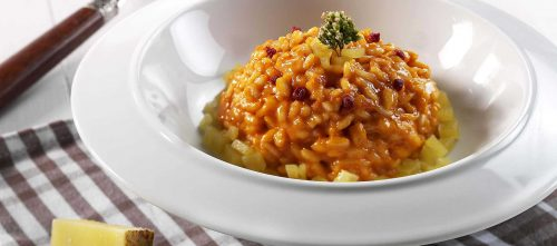 Risotto med alpeost