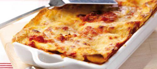 Lasagne med grøntsager