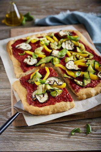 Vegansk pizza