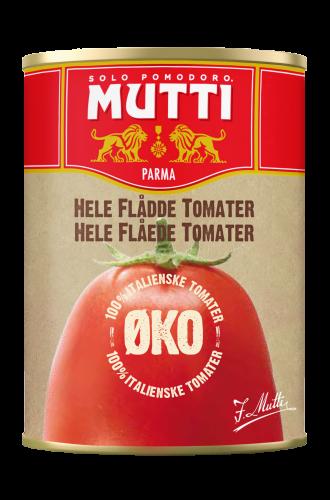 Økologiske Hele Flådde Tomater