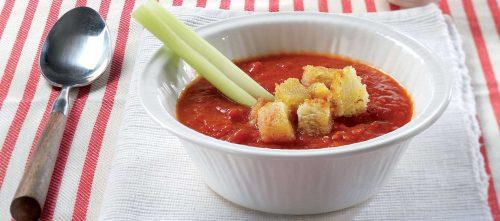 Gazpacho med tomat