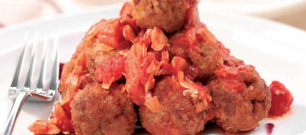 Kjøttboller i søtsur saus