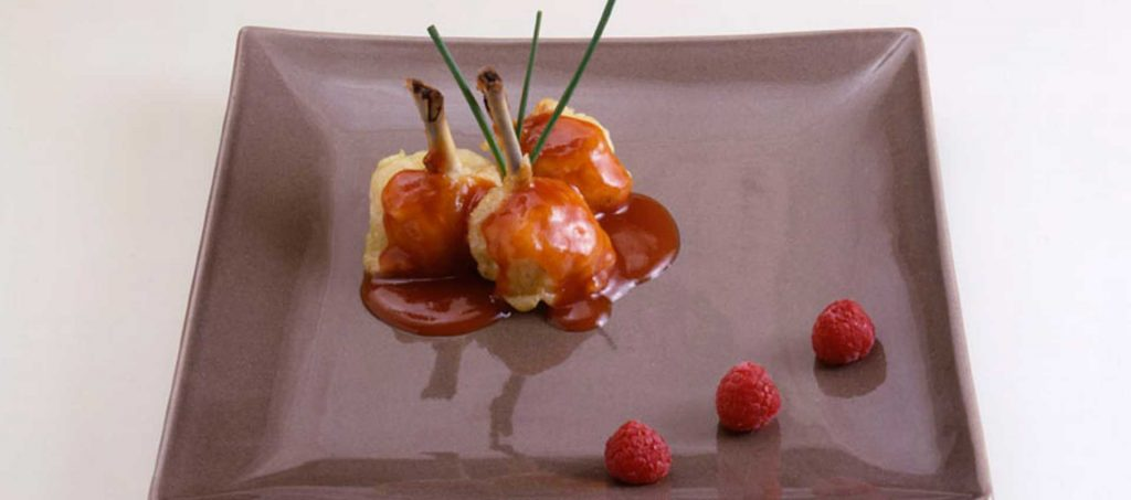 Kyllinglår med tomat og kantareller