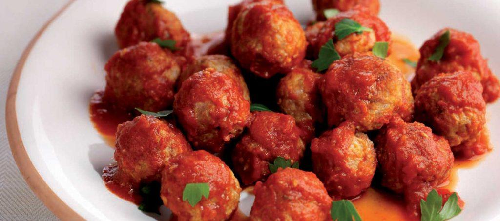 Krydrede kjøttboller oppskrift