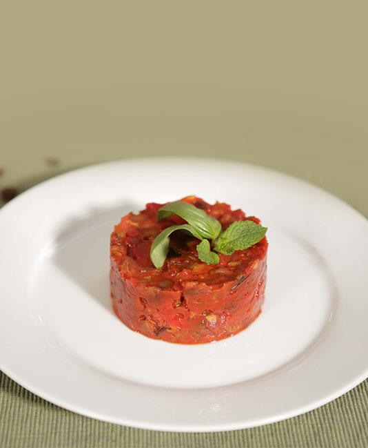 Siciliansk grönsakspytt  – Caponata