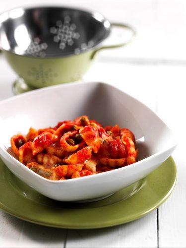 Gnocchipasta med ärtor och taleggio-ost