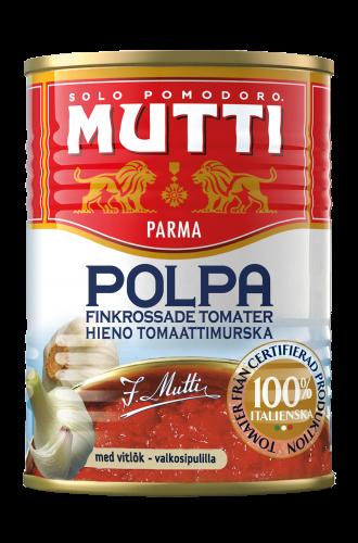 Finkrossade Tomater med Vitlök