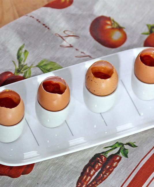 Äggröra med tomat