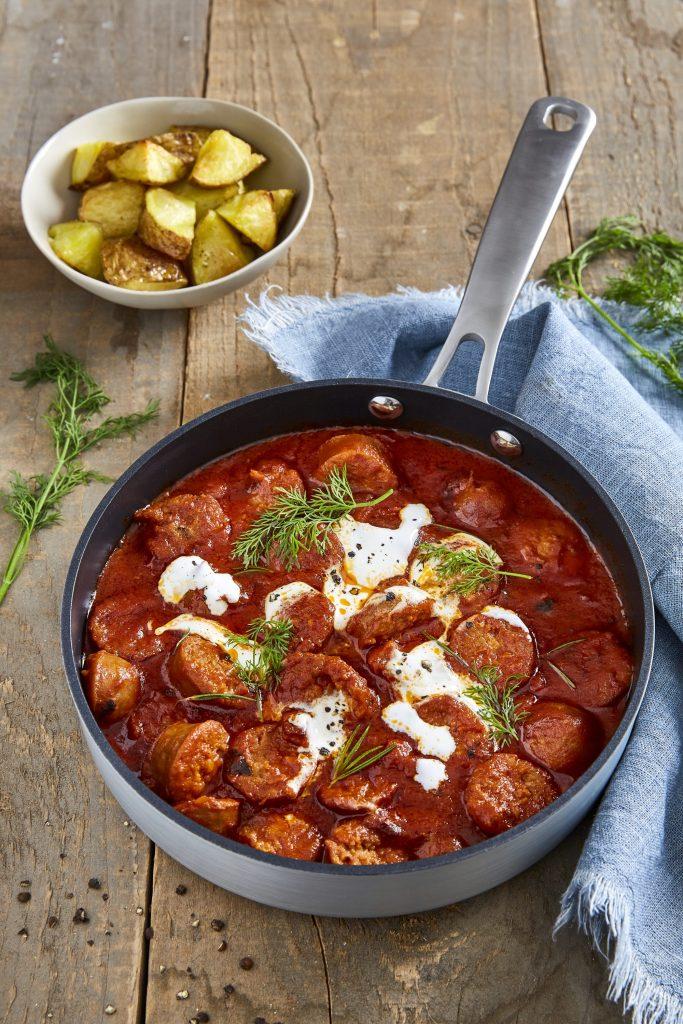 Korvgryta – recept med smak av Italien