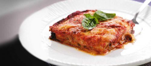 Parmigiana mit Auberginen