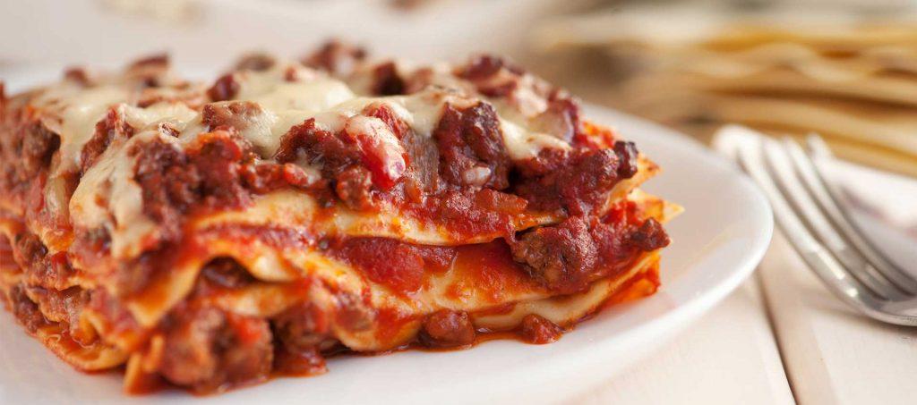 Lasagne mit Tomaten-Ragout