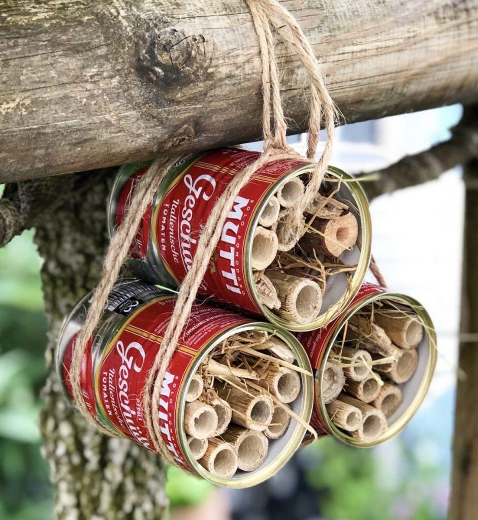 DIY – Bauen Sie mit Mutti auf unterhaltsame und nachhaltige Weise ein Insektenhotel!