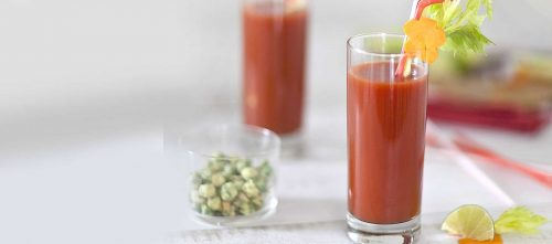 Cocktail de tomates façon Bloody Mary