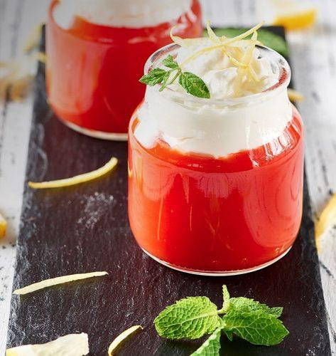 Crème de Tomate à la Ricotta