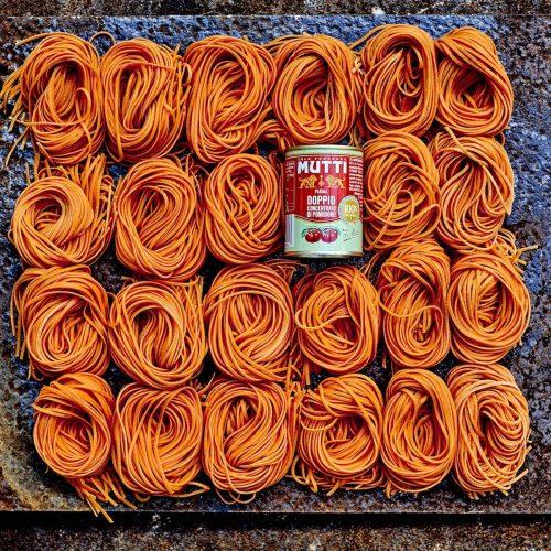 Pâtes fraîches à la tomate