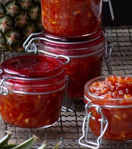 Relish épicée de Tomates et Ananas
