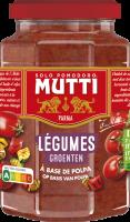 Sauce Tomates et Légumes grillés