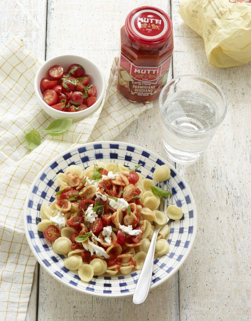 Sauce tomates parmesan produit