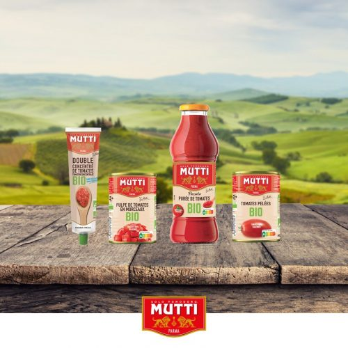 Le petit dernier de la gamme Bio Mutti: le Double Concentré de tomates Bio