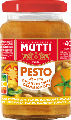 Pesto de tomates orange