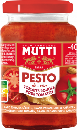 Pesto de tomates rouges