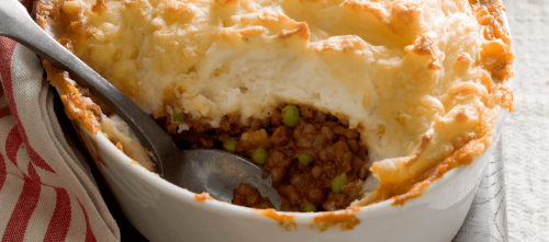 Lentil cottage pie