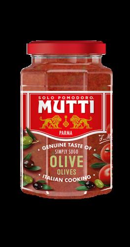 Sos pomidorowy z oliwkami
