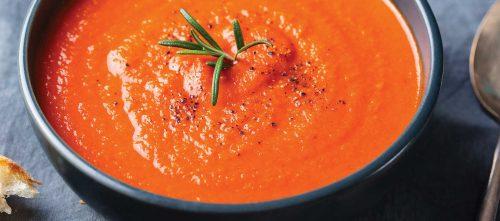 Supă de roșii șI busuioc