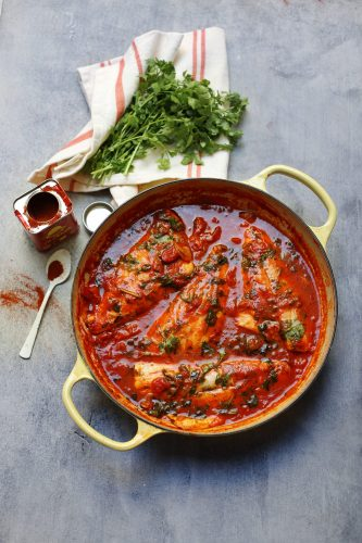Храйме (пикантная рыба по-мароккански)