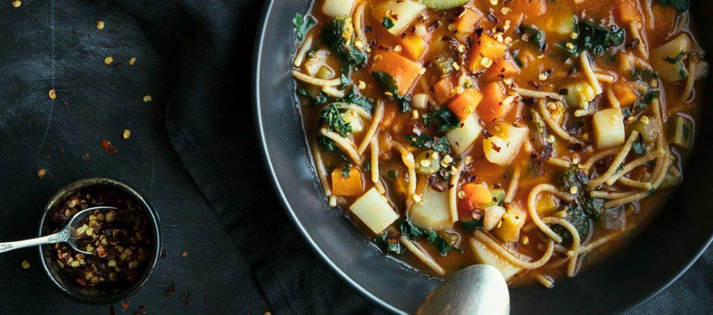 Vegan minestrone recipe