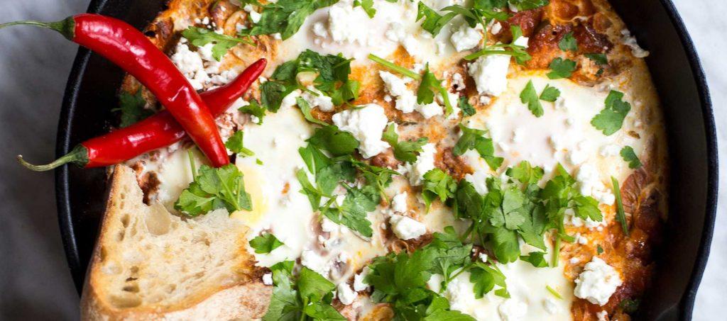 Vegetarian shakshuka