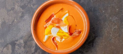Salmorejo (Chilled Spanish tomato soup)