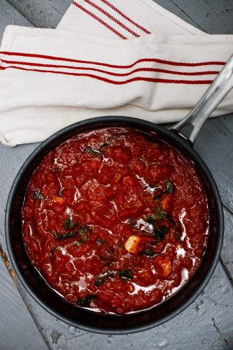 Pomodoro e Basilico – Tomato Basil Sauce