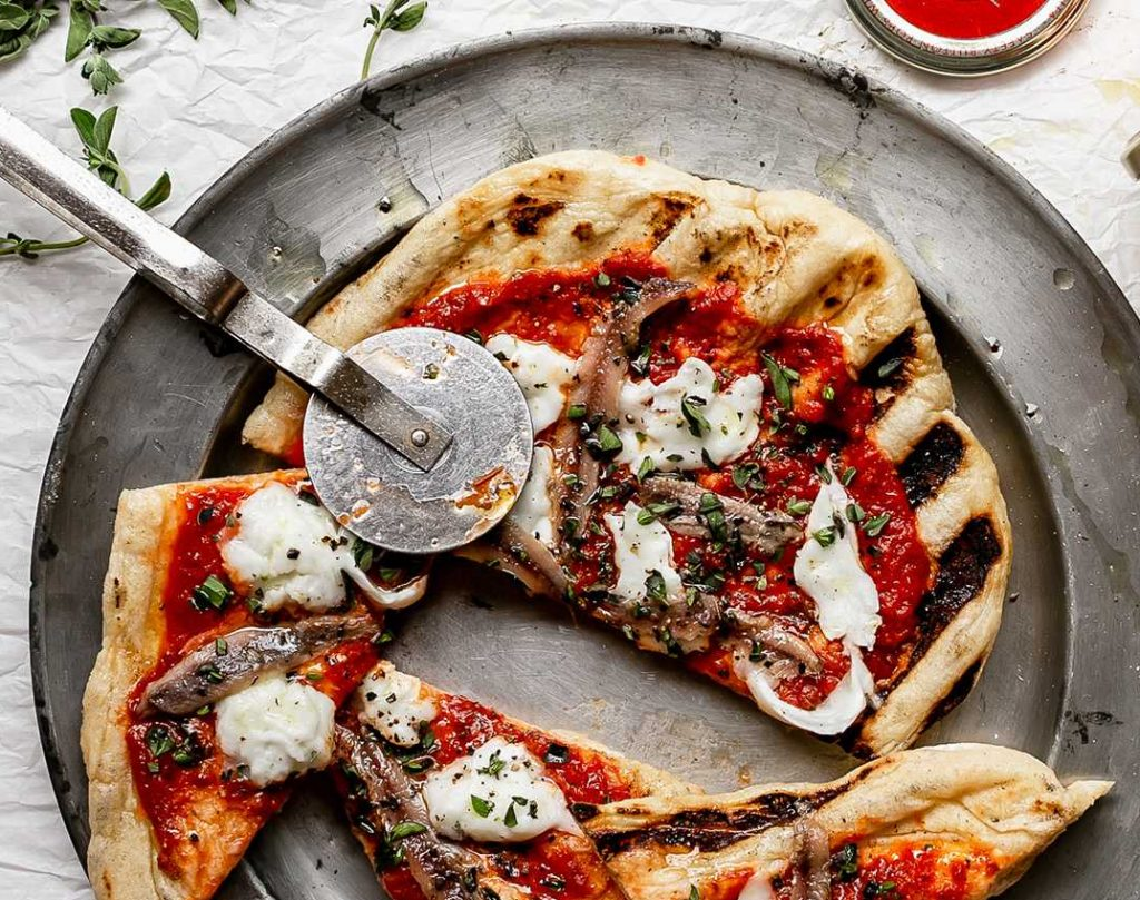 Grilled Pizza: A Tour of Italy
