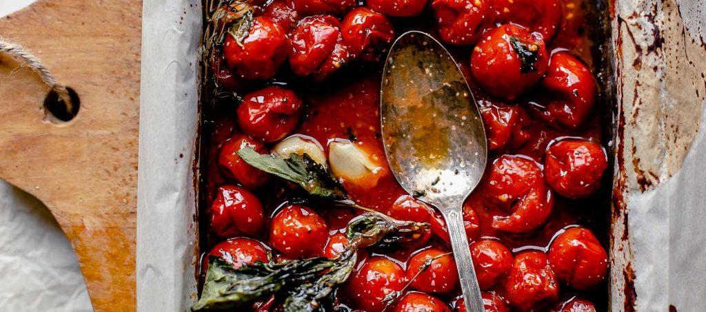 Cherry tomato confit