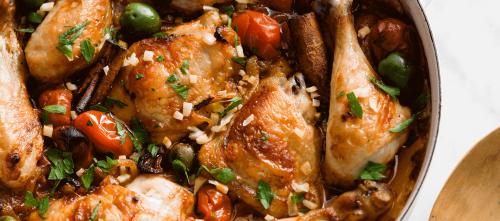 Sicilian style chicken