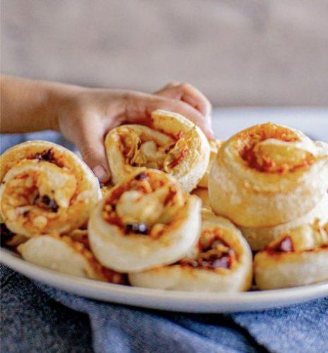 Mediterranean Pizza Rolls