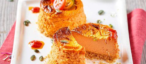 Cheesecake al pomodoro e robiola