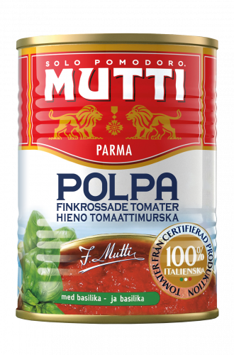 Hieno Tomaattimurska Basilikalla
