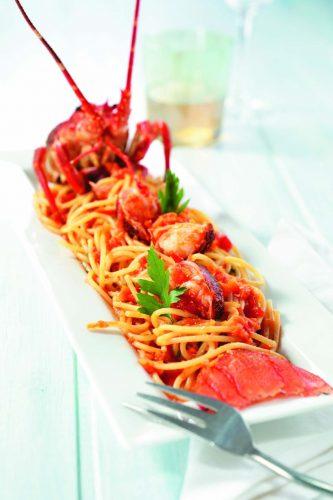 Hummerispagetti