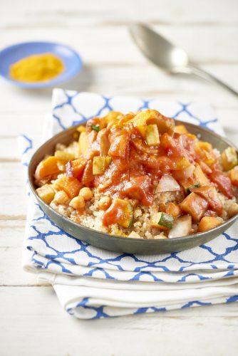 Tomaatti-kasvis-couscous