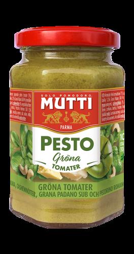 Vihreä tomaattipesto